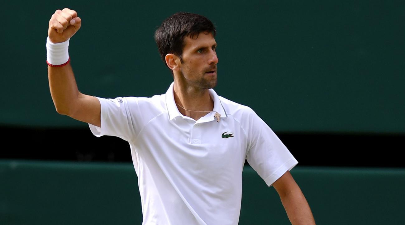 Novak Djocovic wins Wimbledon title