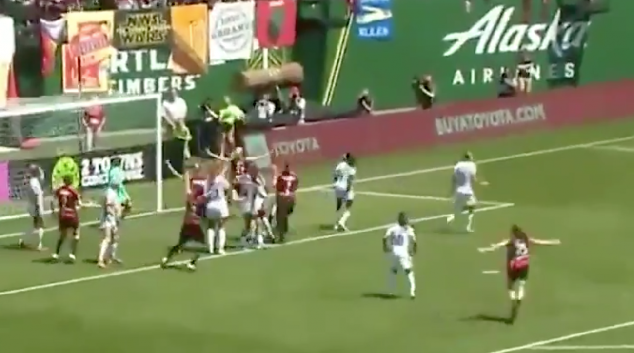 Thorns' Tyler Lussi Scores Dramatic Winner in Stoppage Time Over Pride