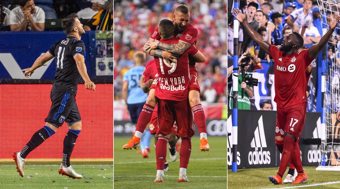 Vako Qazaishvili, Daniel Royer and Jozy Altidore all score big goals in MLS