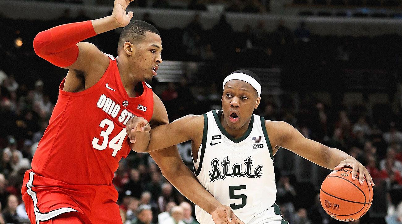 Big Ten basketball 2019-20 power rankings Michigan State Maryland Purdue