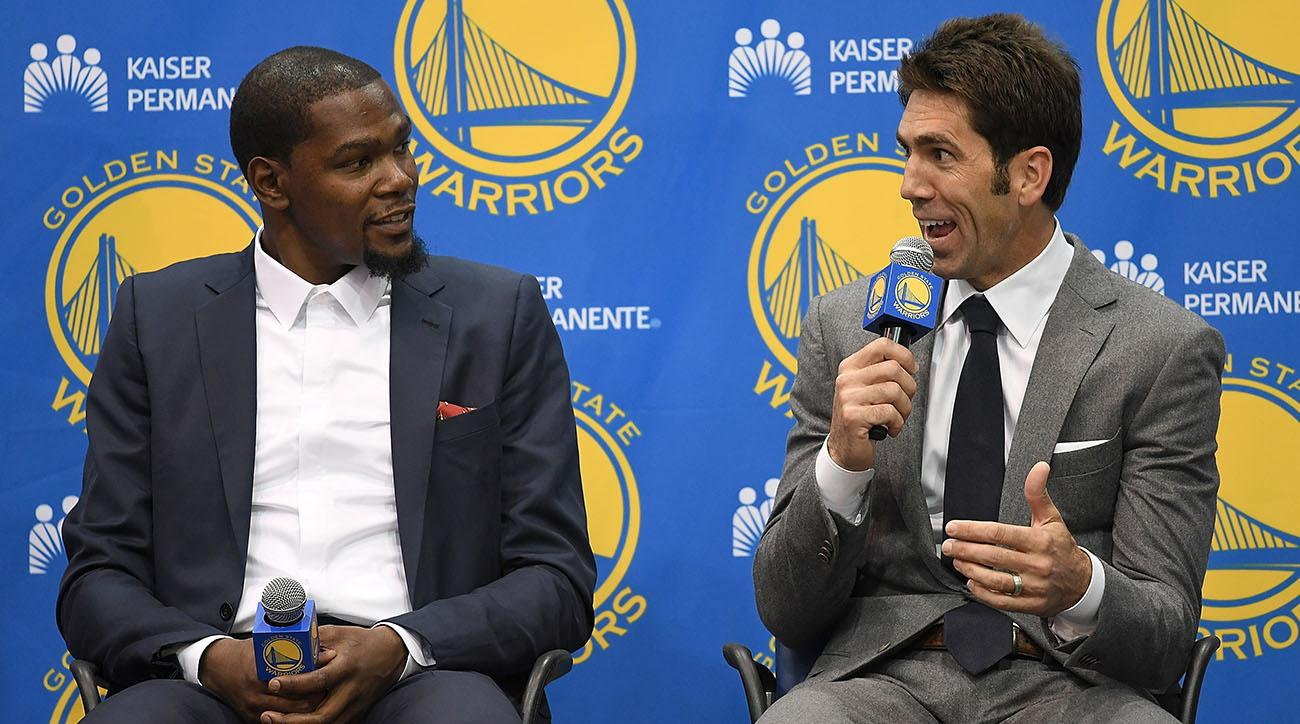 Bob Myers on Kevin Durant's Departure: 'Guys Like Him Don't Come Along Too Often'