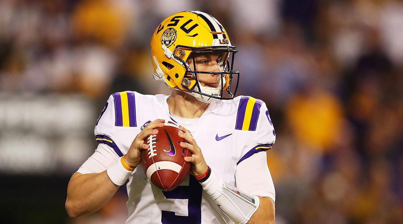 LSU football Joe Burrow SEC Media Days 2019