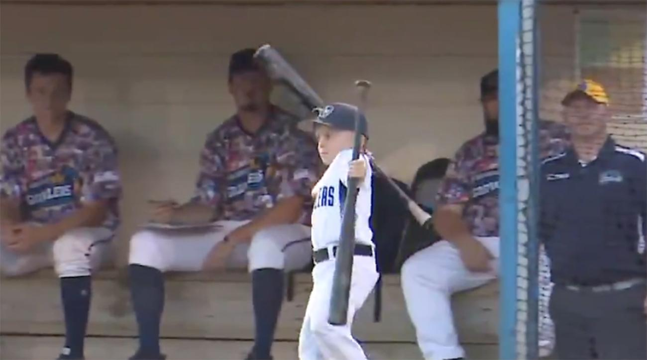 Six-Year-Old Baseball Coach Erupts After Getting Ejected During Game