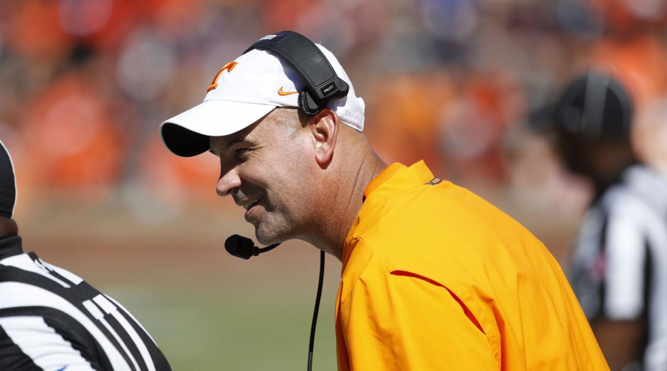 college football, tennessee, jeremy pruitt, alabama, wire