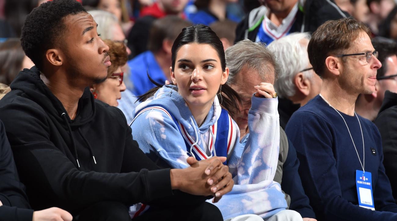 Kendall Jenner responds to meme mocking relationships with NBA players