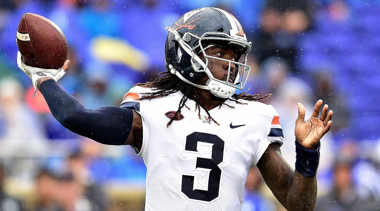 Virginia Bryce Perkins ACC win totals over under gambling 2019 college football