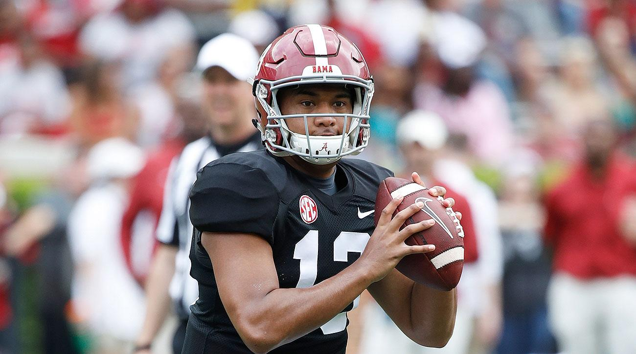 Alabama football QB Tua Tagovailoa SEC Media Days 2019