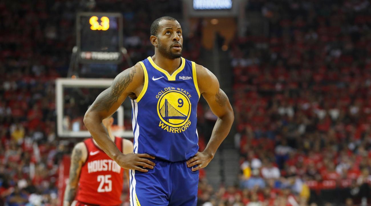 NBA Rumors: Rockets, Clippers 'Strongly Pursuing' Andre Iguodala Trade