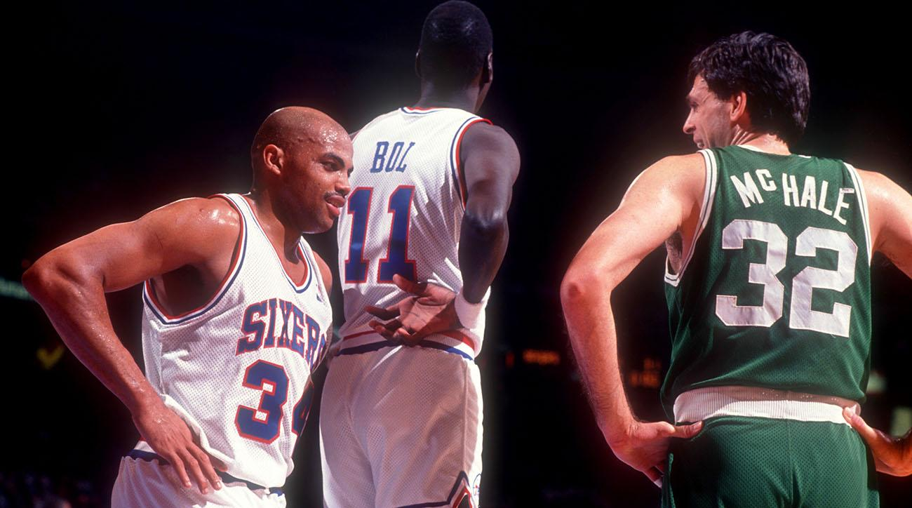 Charles Barkley Still Thinks Kevin McHale is the Best Player He's Played Against