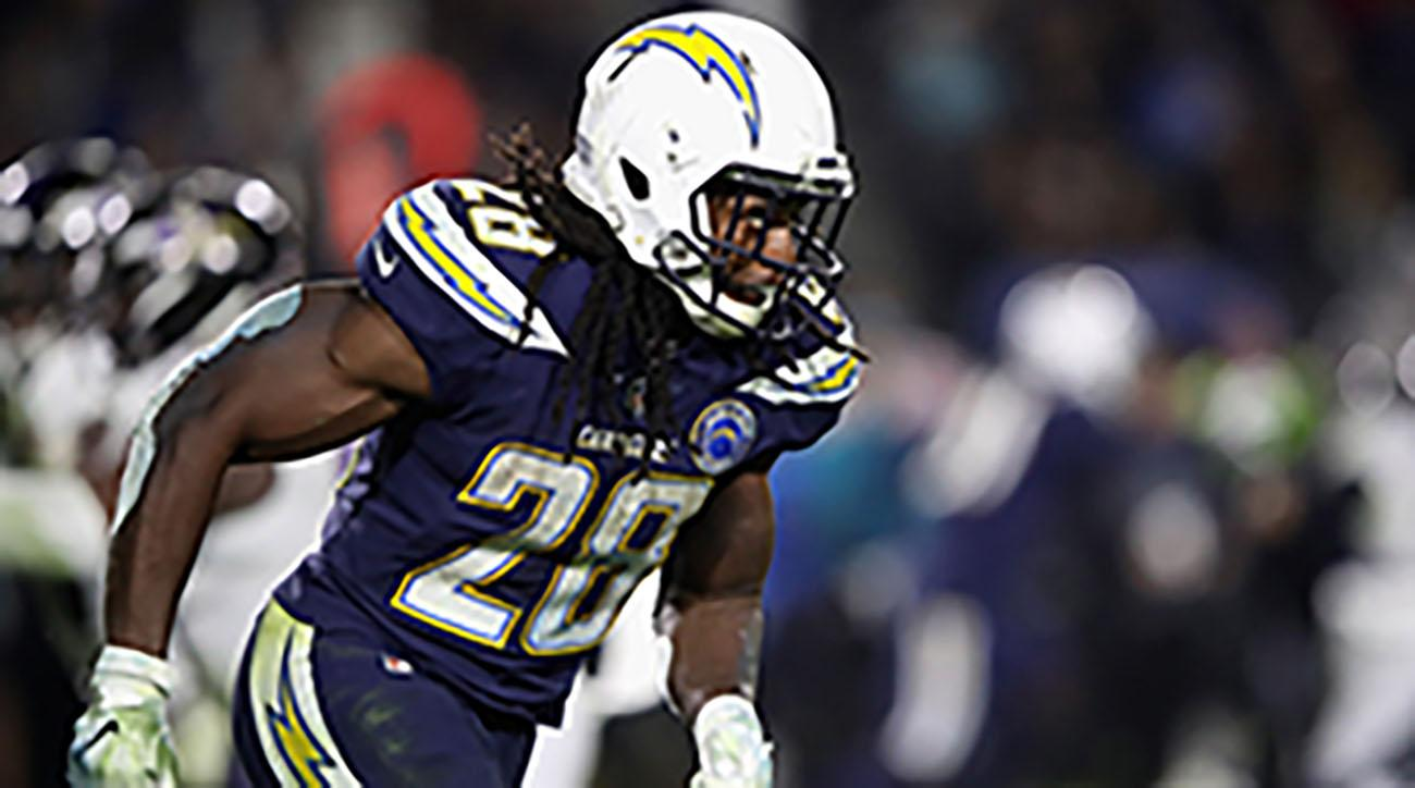 Melvin Gordon has his teammate's support in contract dispute with Chargers
