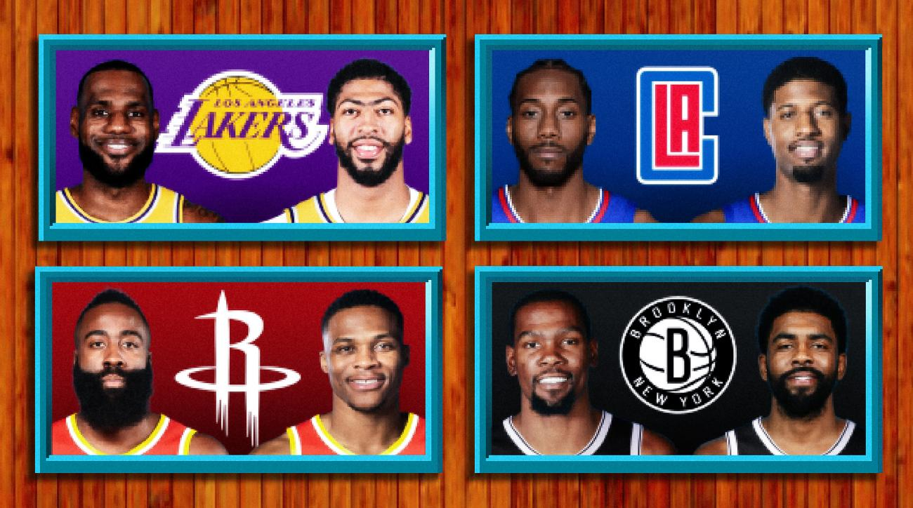 The Best Possible 2019 'NBA Jam' Duos, Ranked
