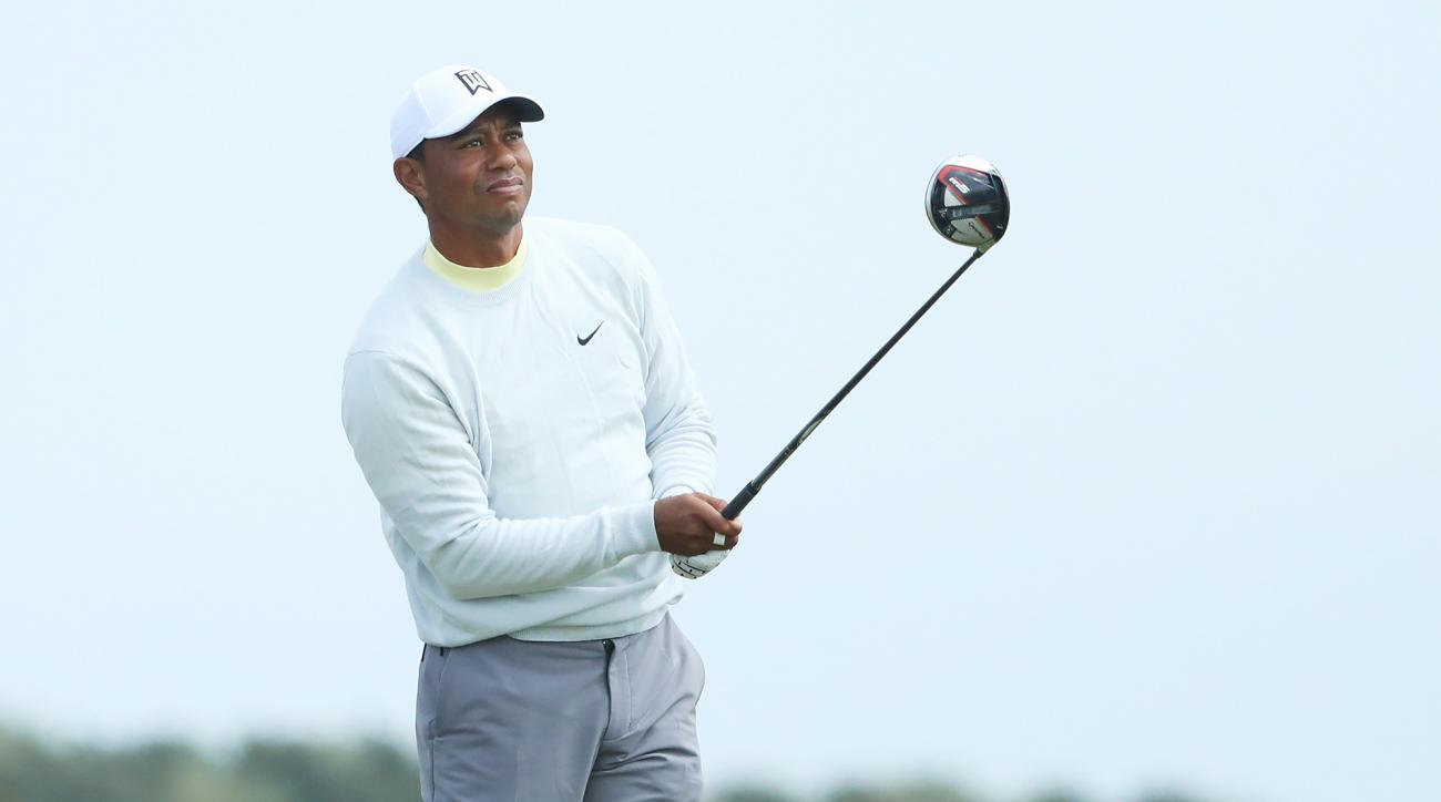 Tiger Woods Shoots Seven-Over 78 in First Round of the Open Championship