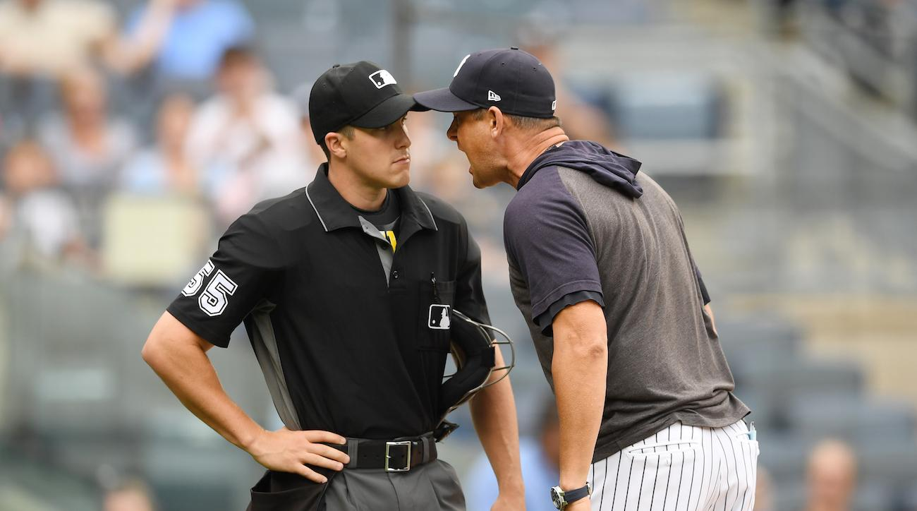 aaron boone suspended one game yankees tirade