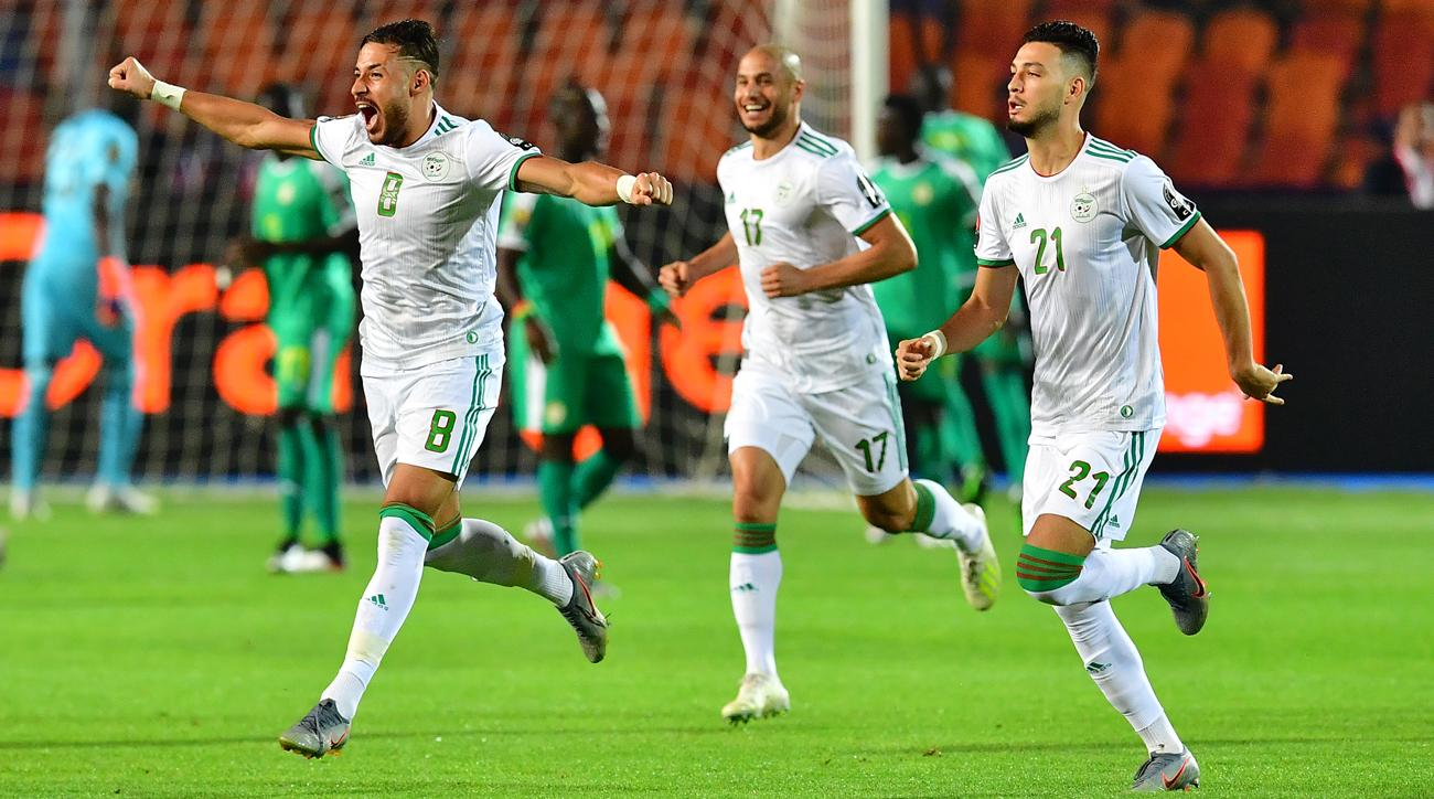 Watch: Algeria Wins Africa Cup of Nations on Wickedly Deflected, Looping Goal