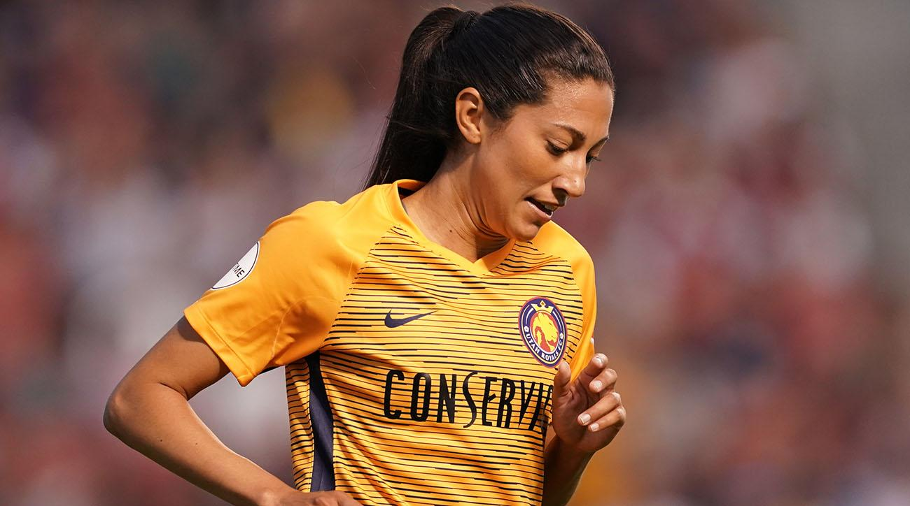 Christen Press Nutmegs a Defender, Beats USWNT Teammate Franch for Goal