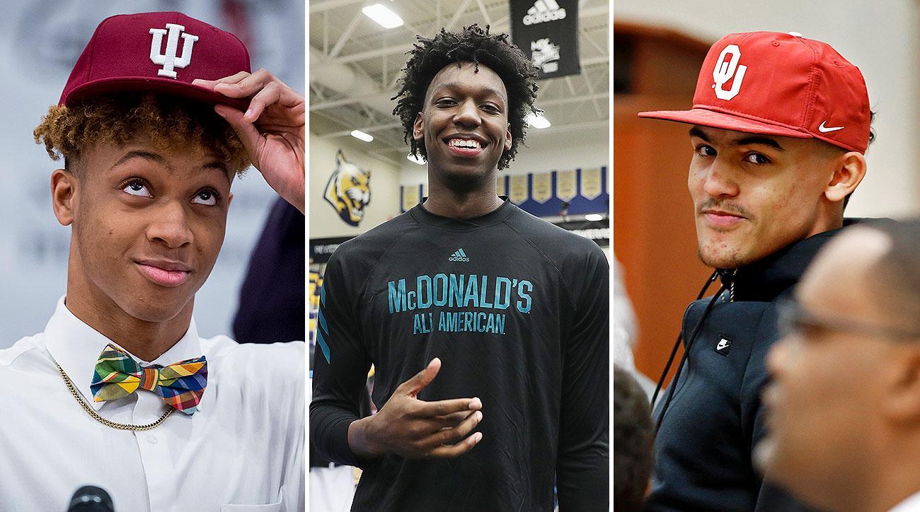 College basketball recruiting James Wiseman Memphis Penny Hardaway