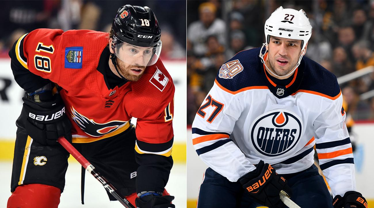 Oilers Trade Milan Lucic to Flames for James Neal