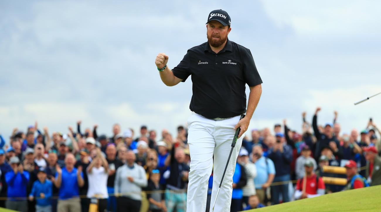 Shane Lowry Shoots 63 to Seize Four-Shot Lead at the Open Championship