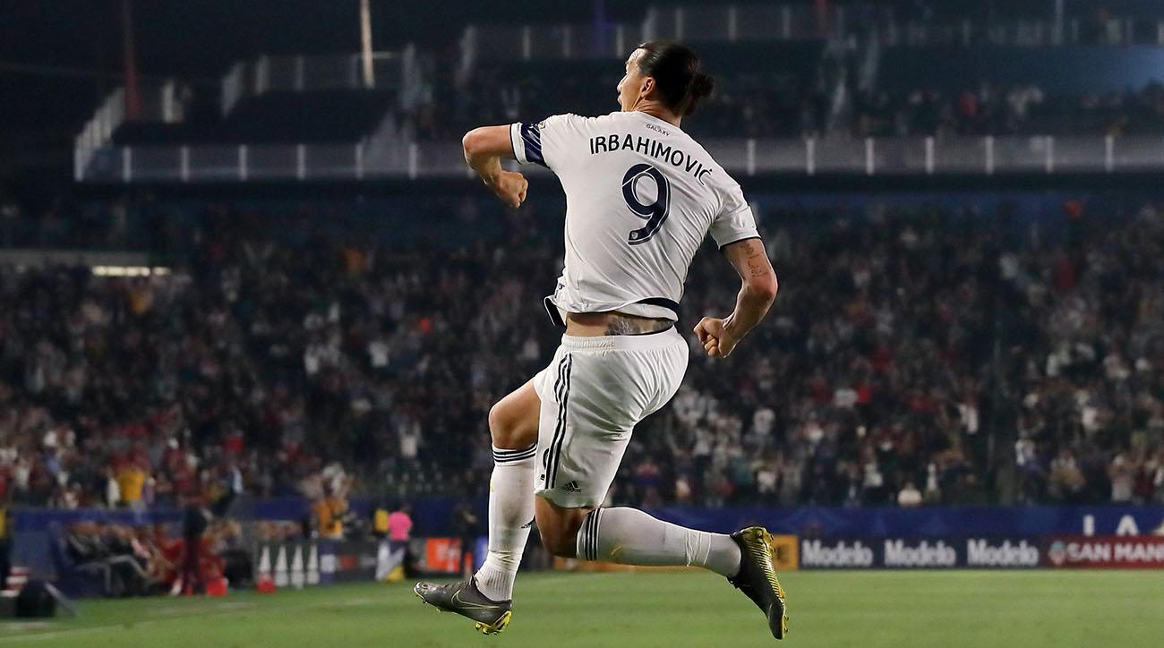 Zlatan Shows Off Ferrari-Like Moves, Nets Hat Trick El Trafico Between Galaxy and LAFC