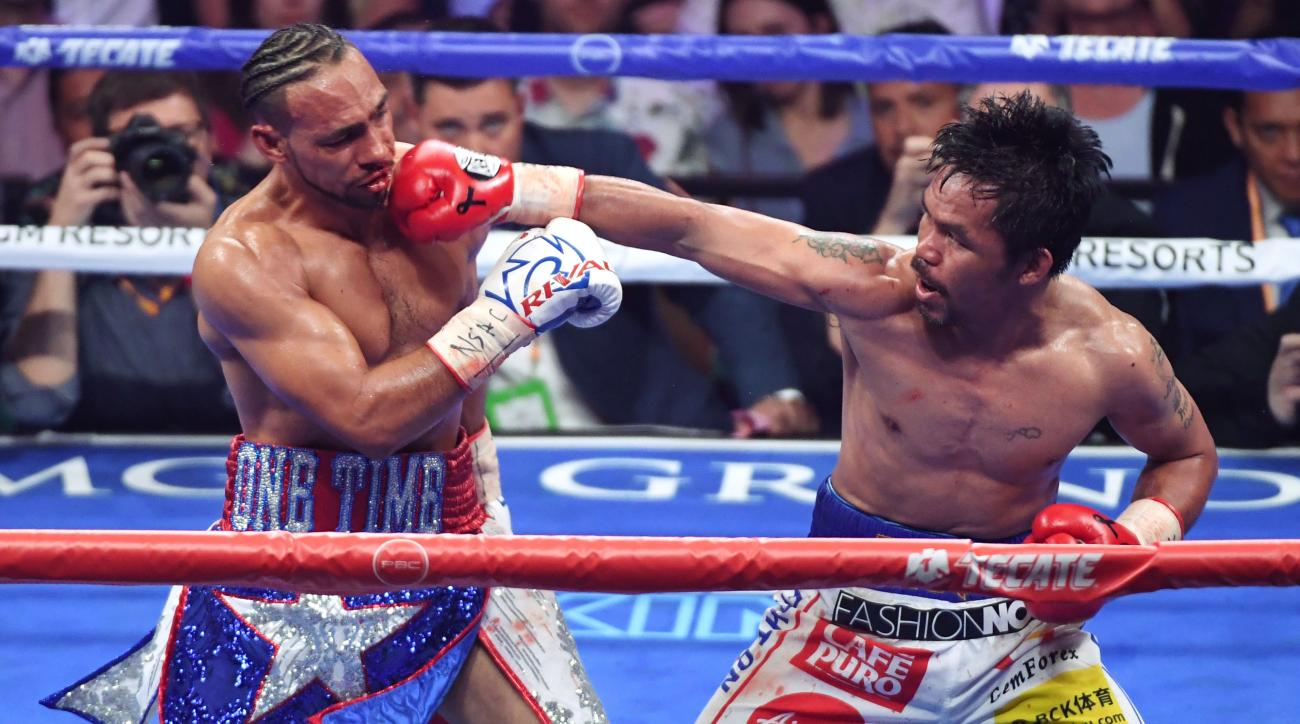 Manny Pacquiao v Keith Thurman