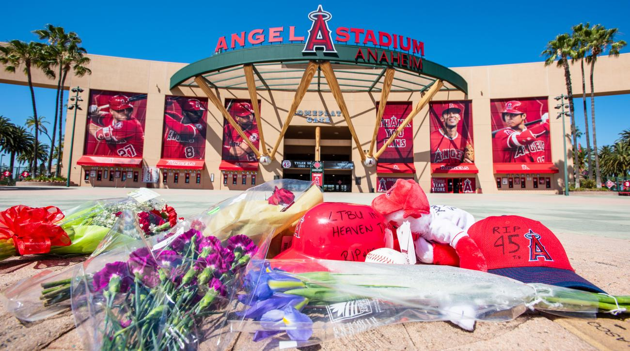 Late Angels Pitcher Tyler Skaggs Honored at Memorial Service