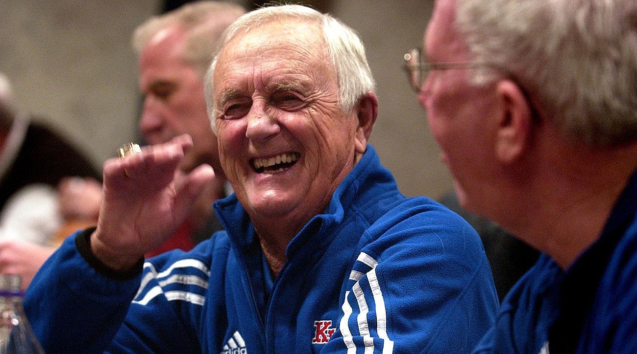 Kansas basketball Max Falkenstien death obit