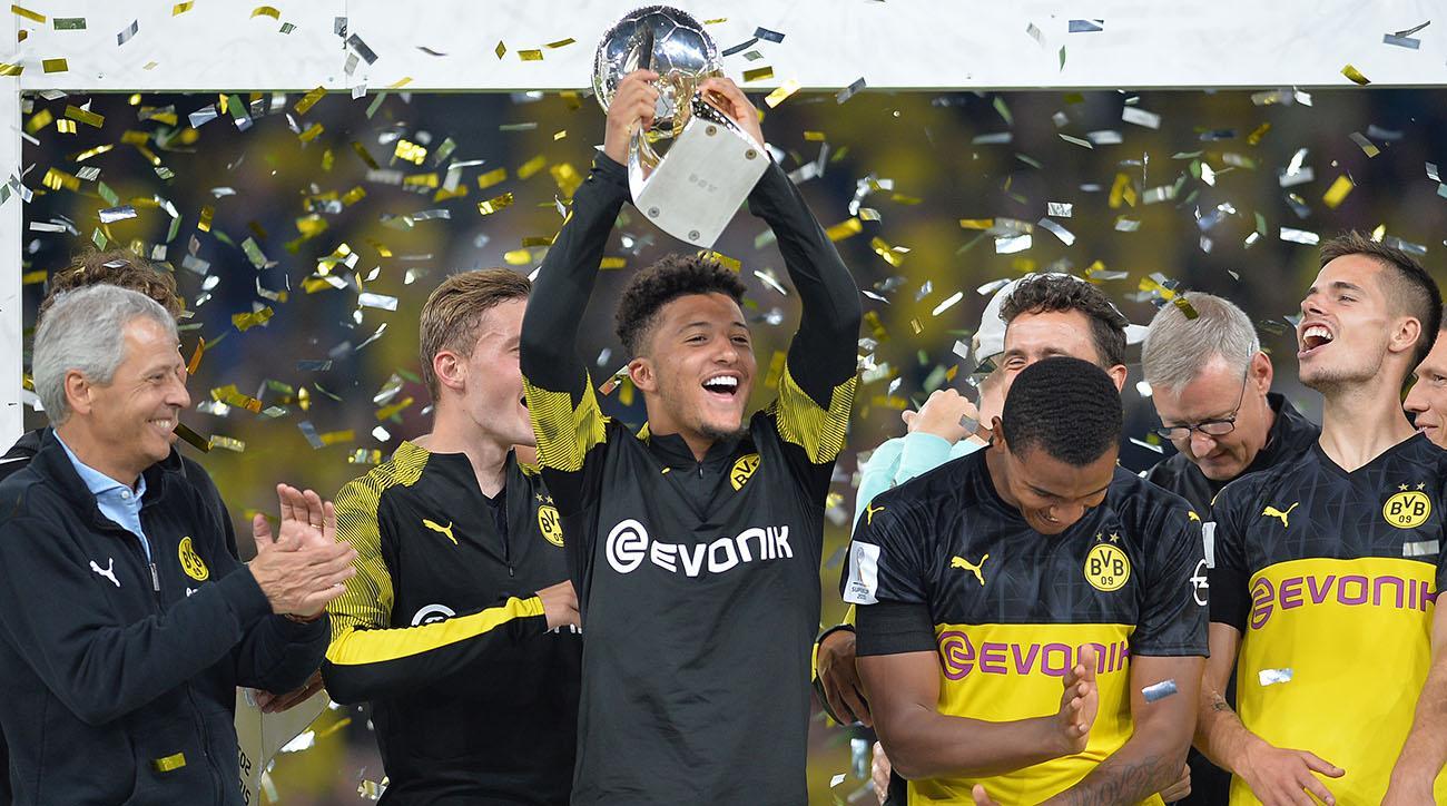 Jadon Sancho Shines as Dortmund Wins German Supercup Over Bayern