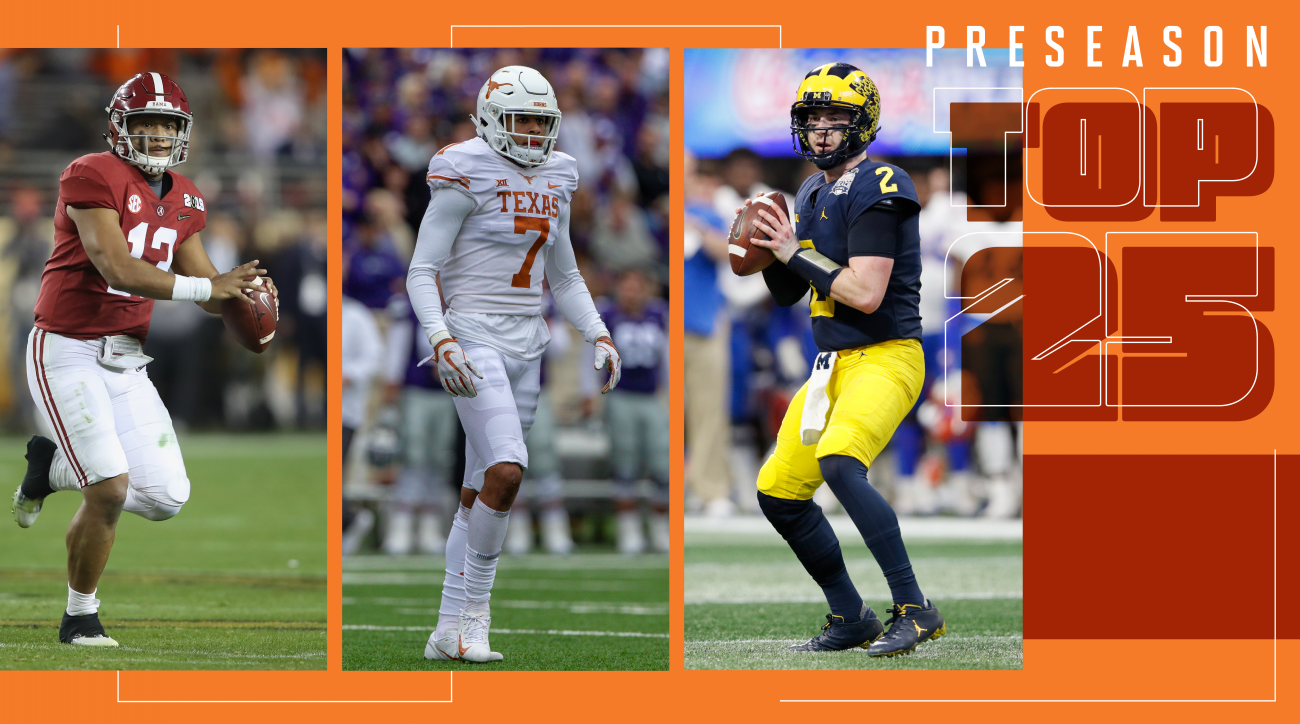 College football rankings top 25 preseason Sports Illustrated
