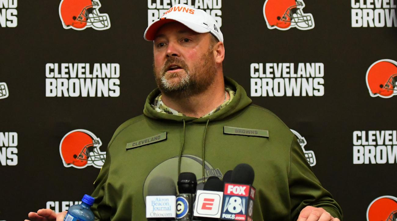 freddie kitchens browns press conference unnamed sources
