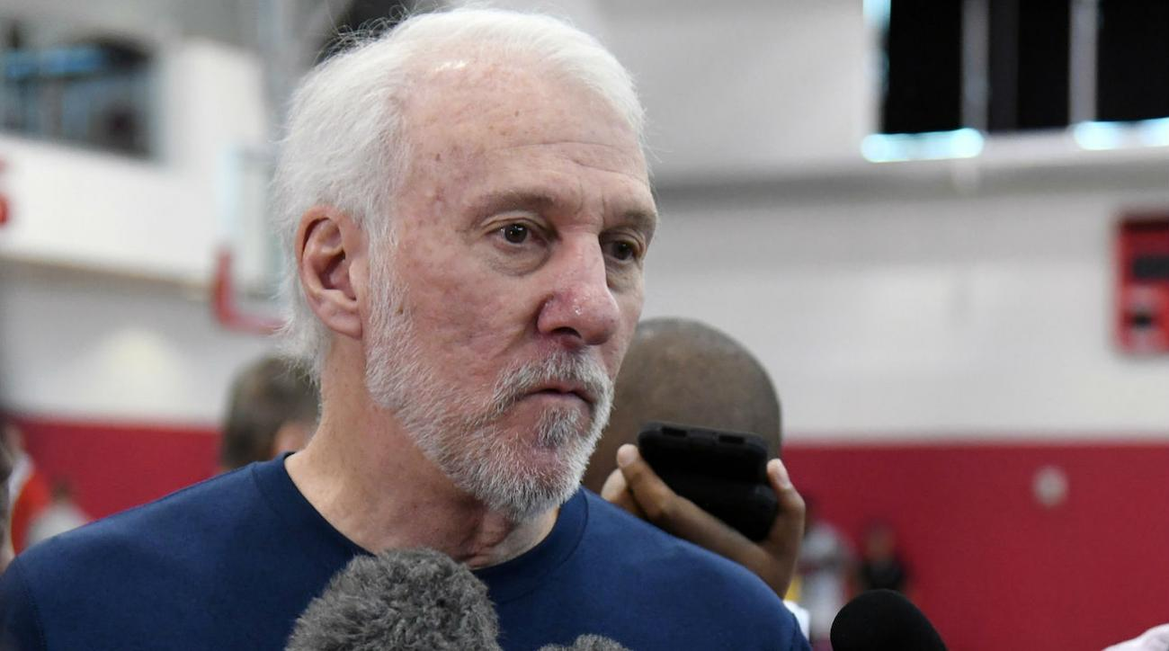 Popovich, Kerr preach unity at Team USA practice