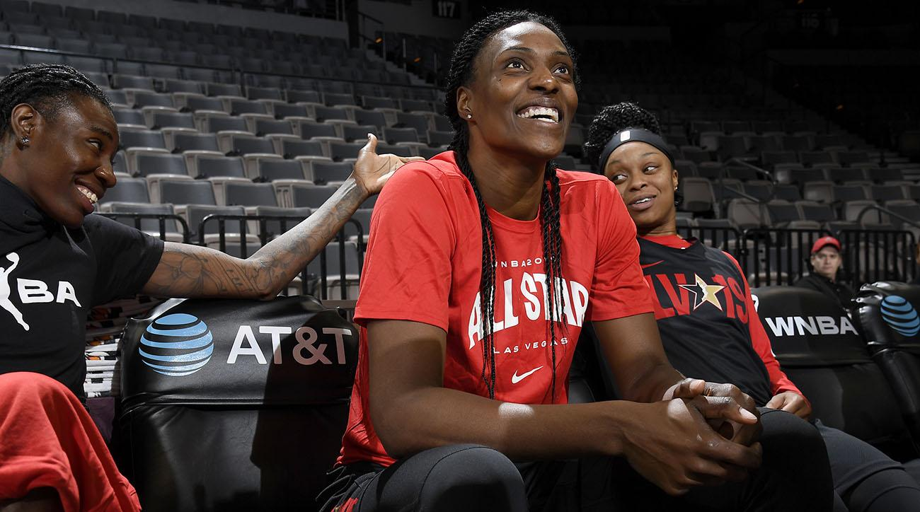 WNBA All-Star Practice and Media Availability 2019