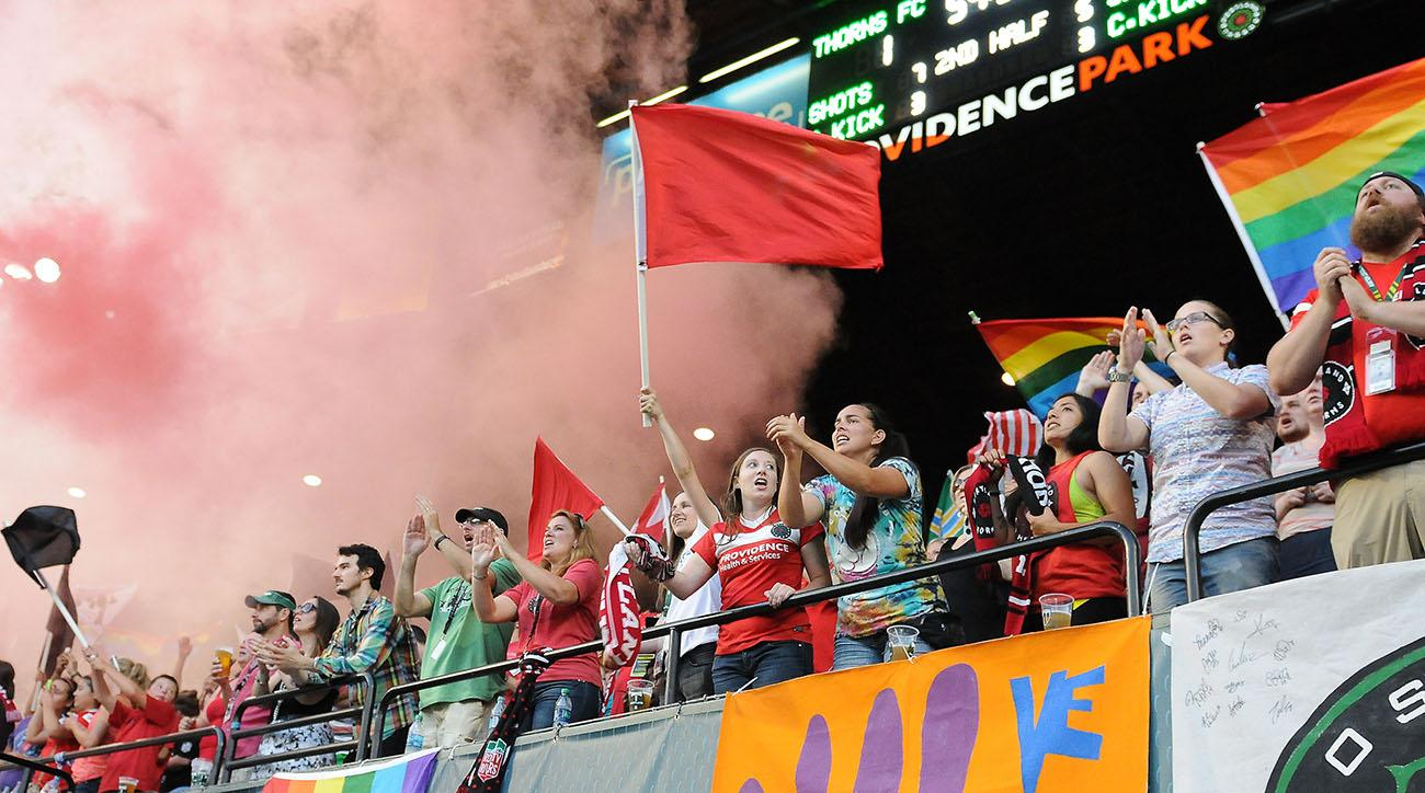 SOCCER: AUG 03 NWSL - Houston Dash at Portland Thorns FC
