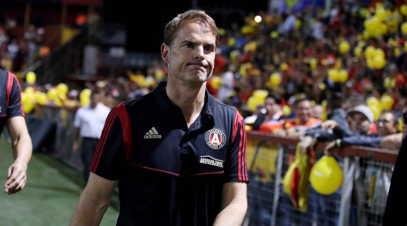 Atlanta United Manager Frank de Boer Calls Equal Pay for Women's Soccer 'Ridiculous'
