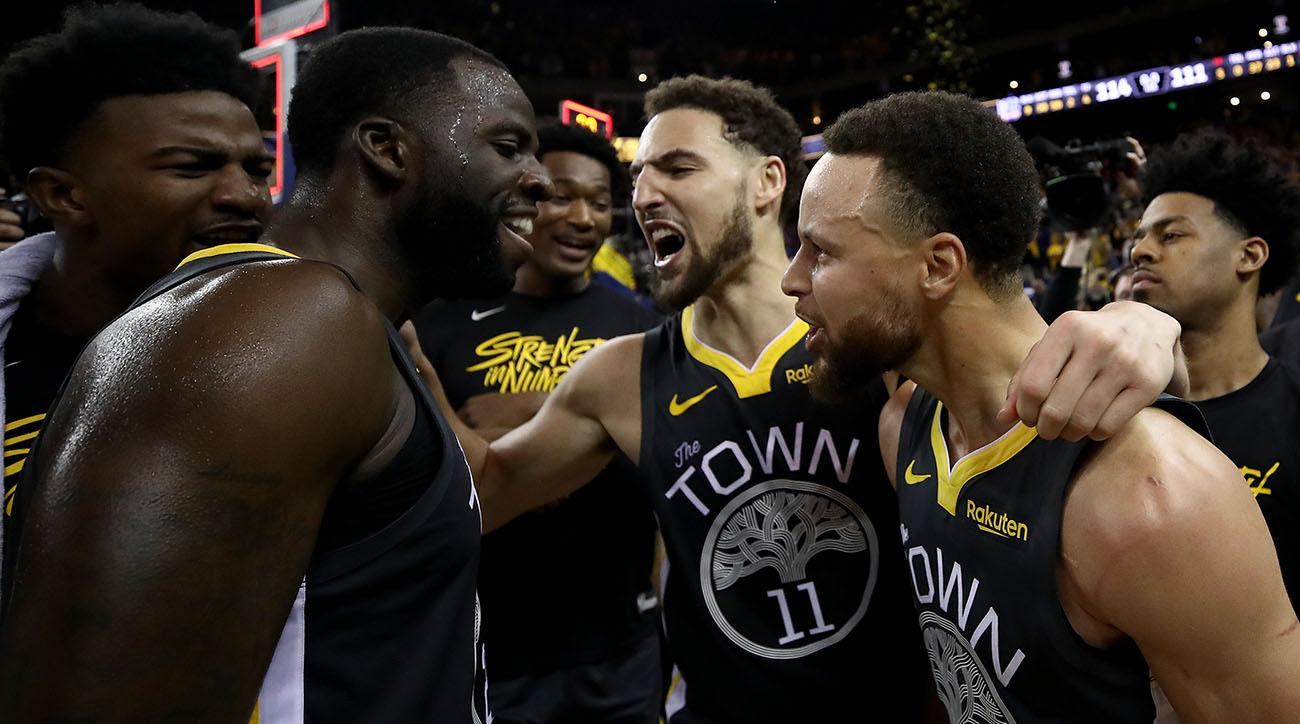 Draymond Green Says Warriors Missed the 'Underdog Chip'