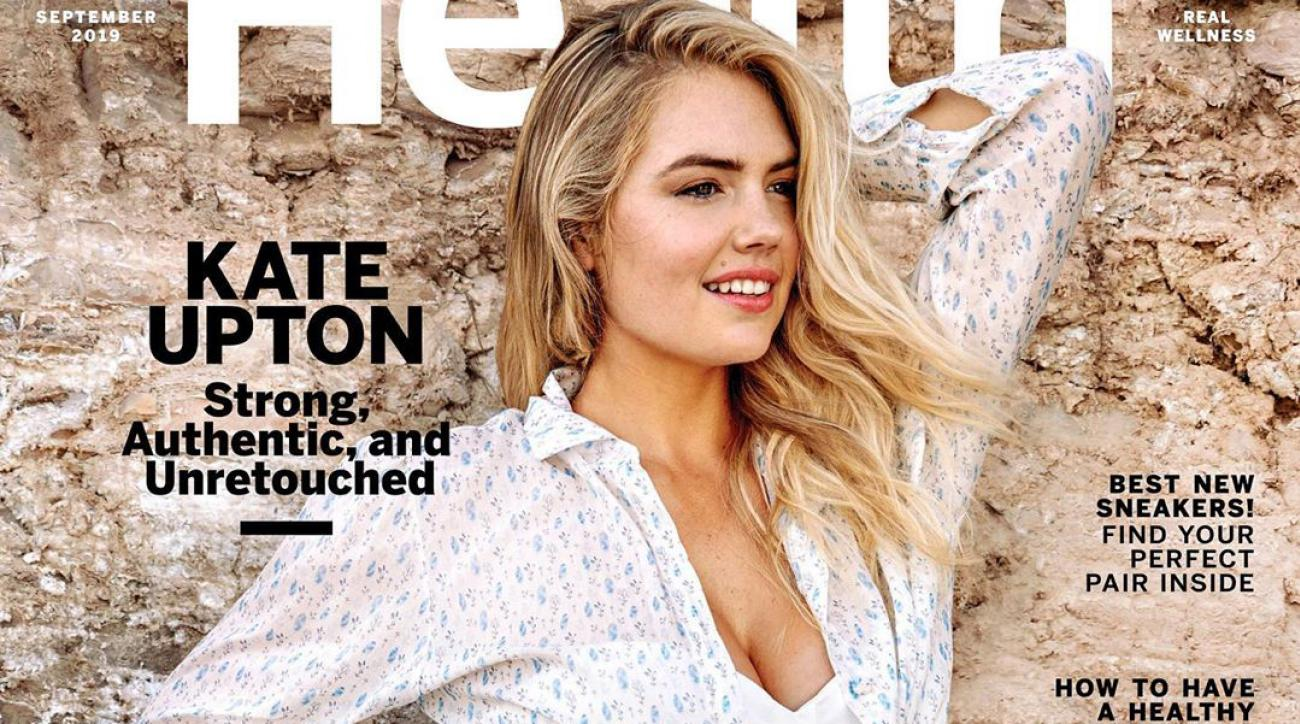 Kate Upton Says Her Unretouched Health Magazine Cover 'Is a Step Toward Embracing Real Life'