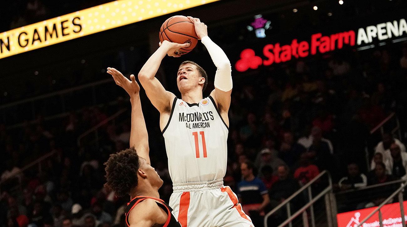 Louisville basketball Samuell Williamson recruiting 2019 Cardinals