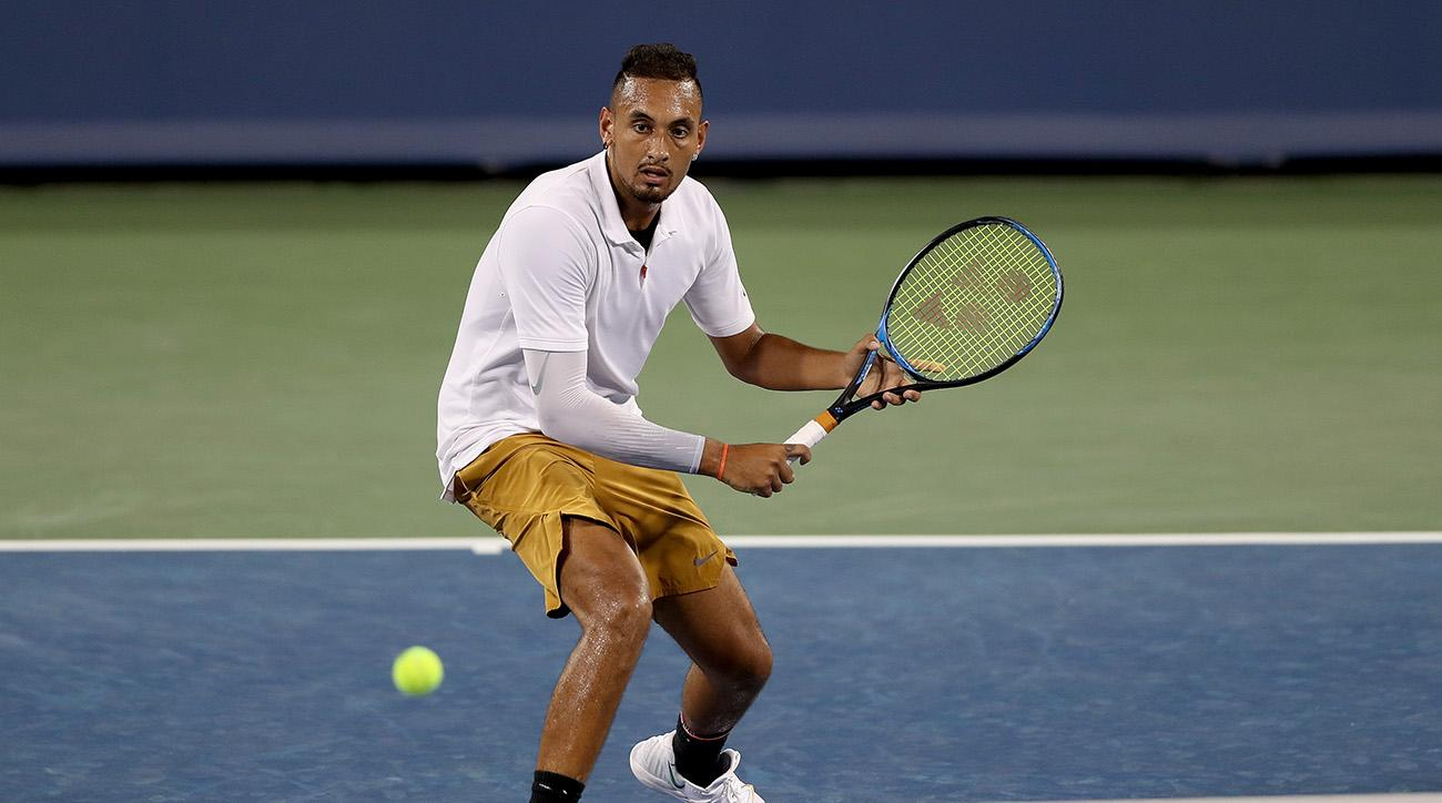 Nick Kyrgios Has Expletive-Filled Rant During Cincinnati Masters Loss