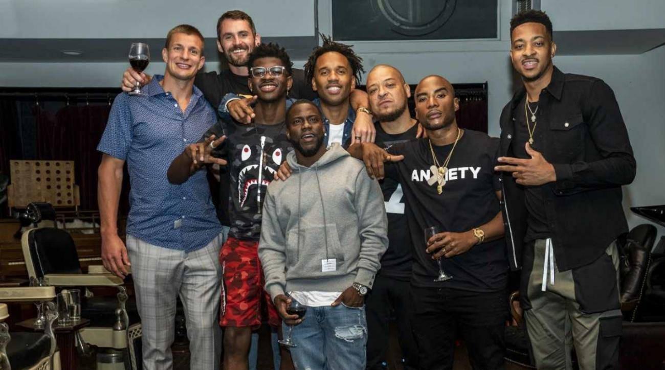 Rob Gronkowski, CJ McCollum, Lil Nas X to Join LeBron James on 'The Shop'