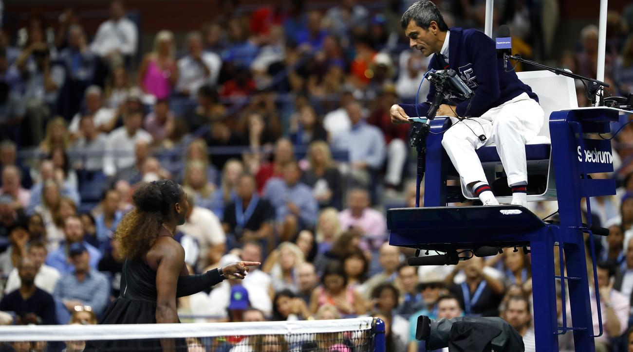 Chair Umpire Confronted by Serena Williams Won't Work Her 2019 U.S. Open Matches