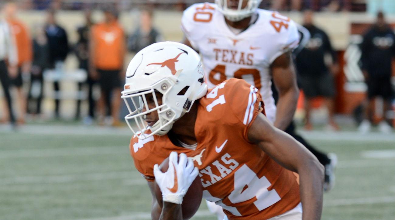 Texas WR Joshua Moore Faces Charges for Carrying Gun