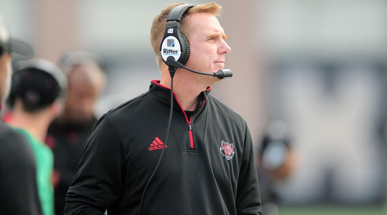 Arkansas State coach Blake Anderson