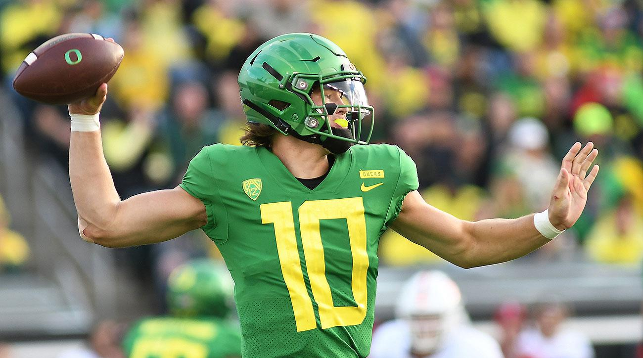 Oregon Ducks football preview 2019 Justin Herbert