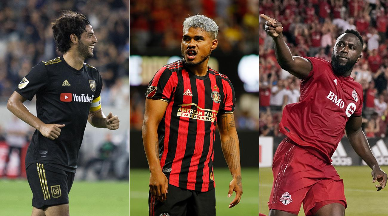 Carlos Vela, Josef Martinez and Jozy Altidore all play big roles in their teams' MLS results over the weekend