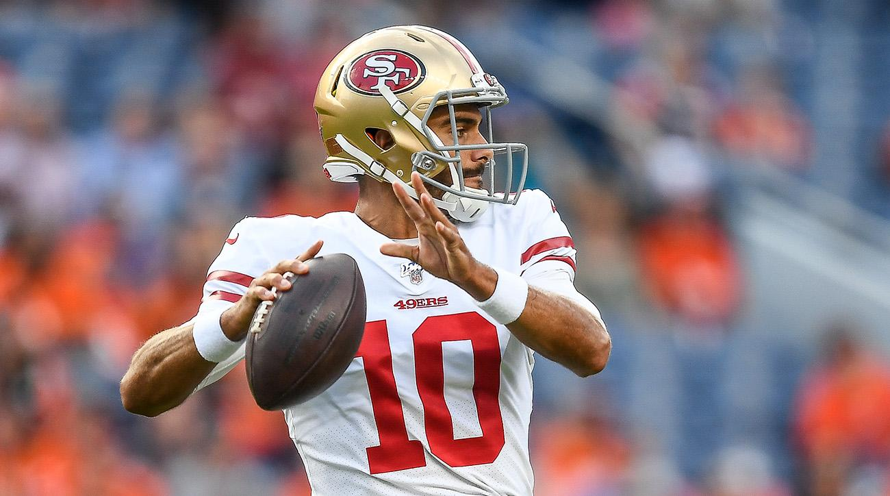 Jimmy Garoppolo Finishes With 0.0 QB Rating In Return From Knee Injury