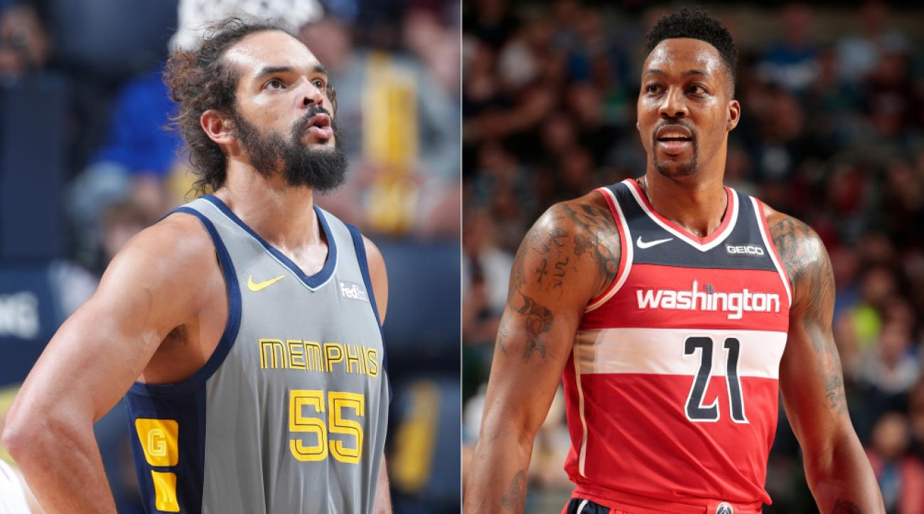 Report: Lakers Planning Workouts for Joakim Noah, Dwight Howard, Mo Speights
