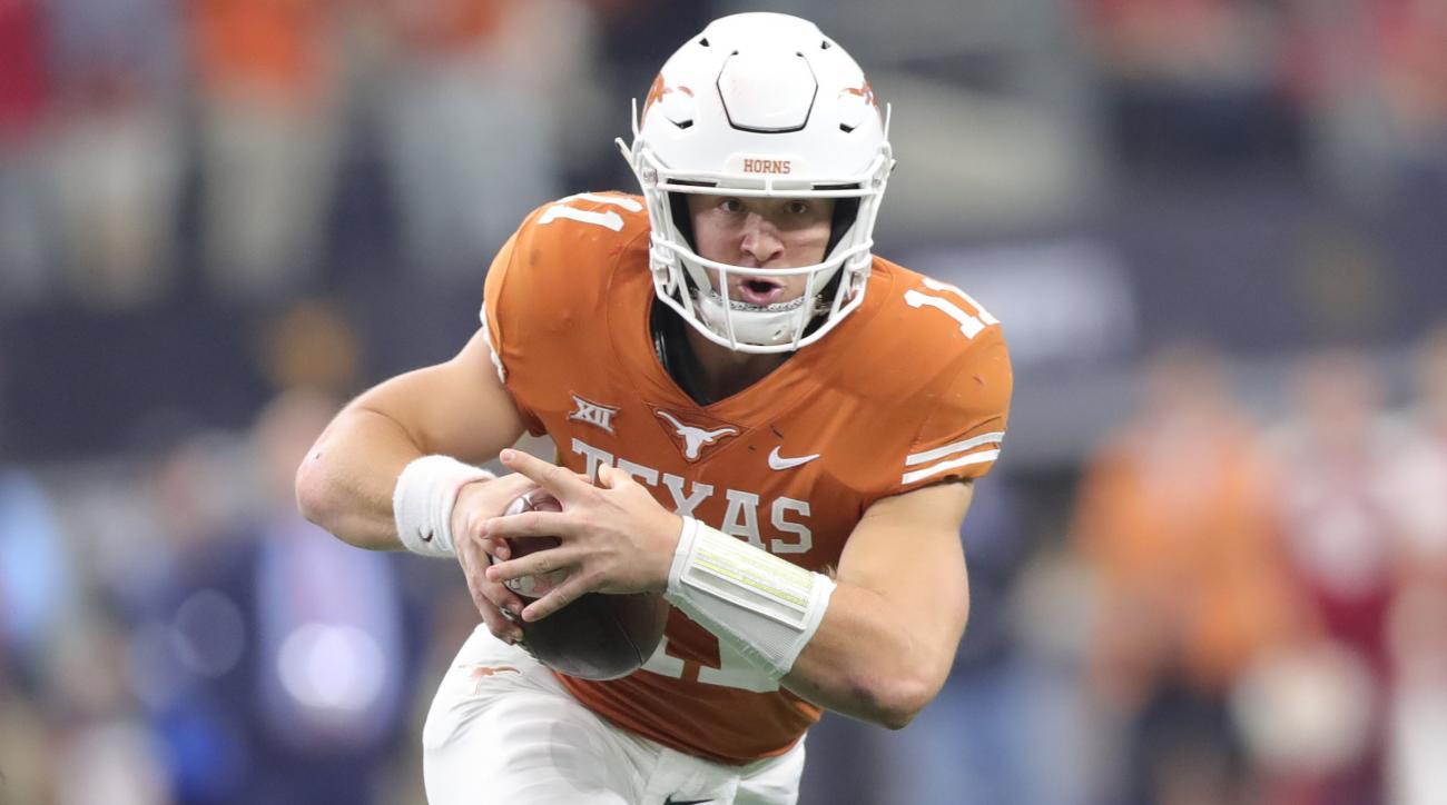 Texas QB Sam Ehlinger