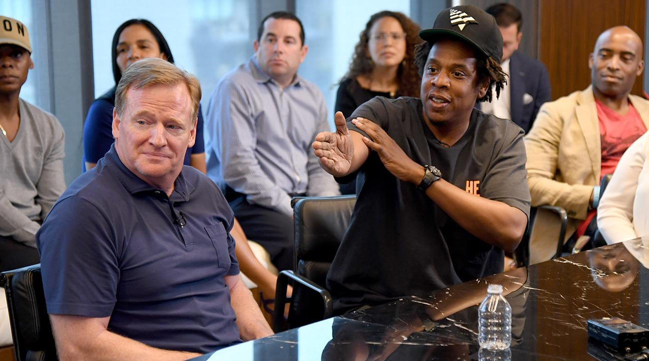 Jay-Z meets with Roger Goodell, NFL