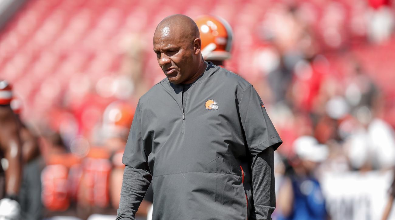 Hue Jackson on 3–36 Record With Browns: 'That's What's On My Tombstone'