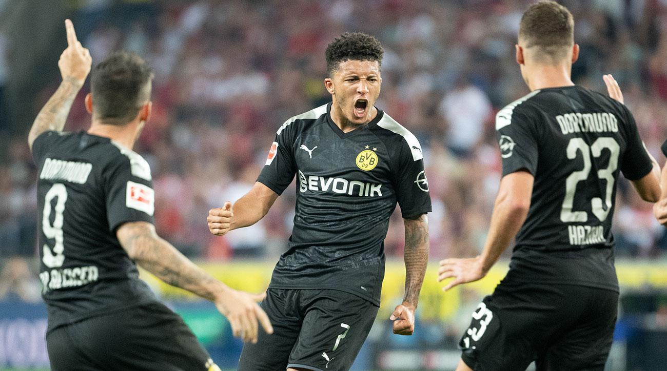 Sancho's Goal, Assist Help Dortmund Come Back to Beat Cologne