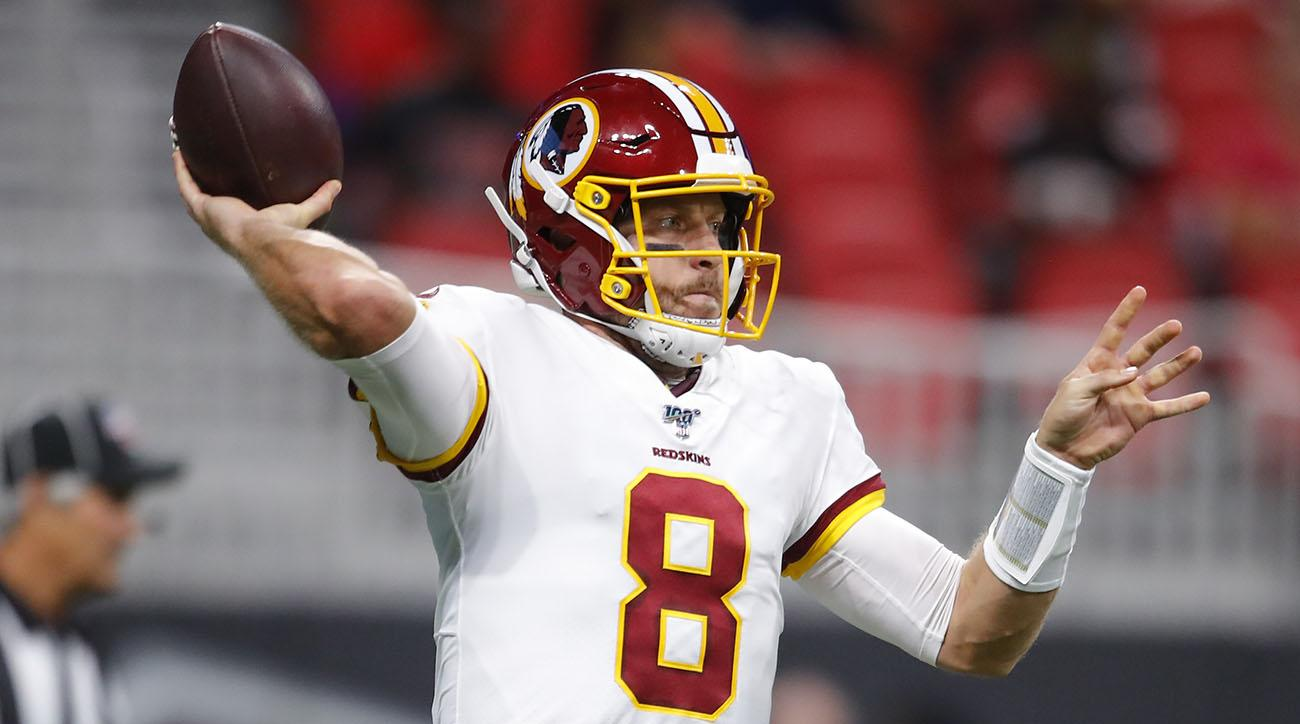 Redskins Name Case Keenum Starting QB for Season Opener vs. Eagles